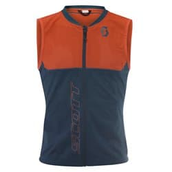 Защита спины SCOTT Actifit Plus M's Light Vest denim blue/tangerine orange Р:L