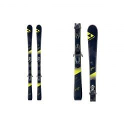 Лыжи FISCHER Progressor F17 160 см + крепления RS10 PR