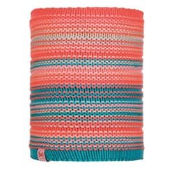 Бандана BUFF® NECKWARMER JR KNITTED POLAR AMITY CORAL PINK