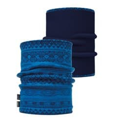 Бандана BUFF® NECKWARMER POLAR REVERSIBLE ATHOR HARBOR / NAVY