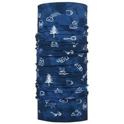 Бандана BUFF® ORIGINAL CHILD FUNNY CAMP NAVY