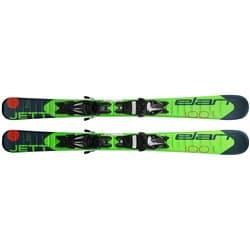 Горные лыжи детские ELAN 18-19 JETT QS 120 + креп. EL 4.5