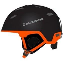 Шлем BLIZZARD® Double Black matt/Neon Orange 56-59