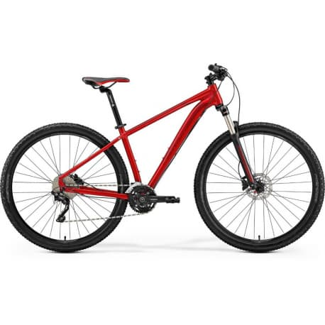 """Велосипед горный Merida Big.Nine 300 К:29"""" Р:L(18.5"""") MetallicRed/DarkRed/Black"""