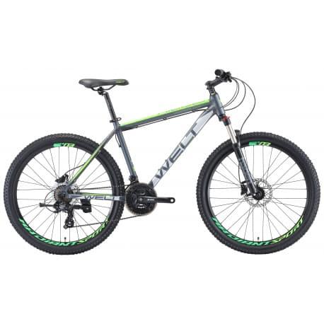 "26"" WELT Ridge 1.0HD 20"" matt dark grey/green 2019"