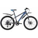 "Велосипед 24"" WELT Peak 24 Disc matt grey/blue/white 2019"