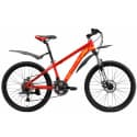 "Велосипед 24"" WELT Peak 24 Disc red/yellow 2019"