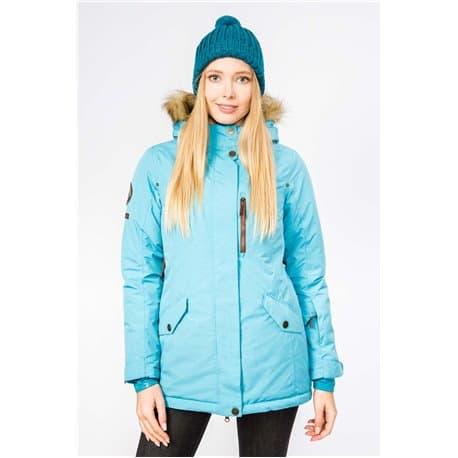 Куртка женская STAYER 17-43124 48 небесно-голубой Р:48