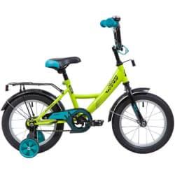 """Велосипед 14"""" NOVATRACK VECTOR Салатовый"""