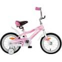 """Велосипед 14"""" NOVATRACK NOVARA Алюминиевая рама, Розовый"""
