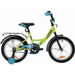 """Велосипед 16"""" NOVATRACK VECTOR Салатовый"""