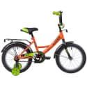 """Велосипед 16"""" NOVATRACK VECTOR Оранжевый"""