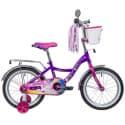 """Велосипед 16"""" NOVATRACK LITTLE GIRLZZ Фиолетовый"""