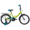 """Велосипед 18"""" NOVATRACK VECTOR Салатовый"""