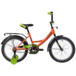 """Велосипед 18"""" NOVATRACK VECTOR Оранжевый"""