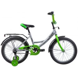 "Велосипед 18"" NOVATRACK VECTOR Серебристый"