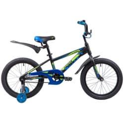 """Велосипед 18"""" NOVATRACK LUMEN Алюм. Черный"""