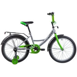 "Велосипед 20"" NOVATRACK VECTOR Серебристый"