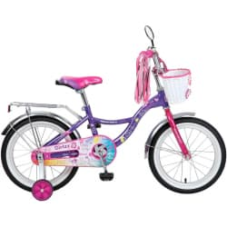 "Велосипед 20"" NOVATRACK LITTLE GIRLZZ Фиолетовый"