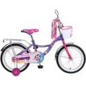 """Велосипед 20"""" NOVATRACK LITTLE GIRLZZ Фиолетовый"""