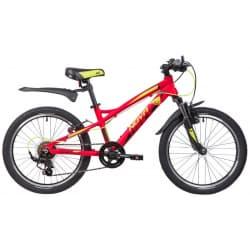 """Велосипед 20"""" NOVATRACK TORNADO Алюм., Красный"""