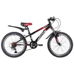 """Велосипед 20"""" NOVATRACK POINTER 6 скоростей, Чёрный"""