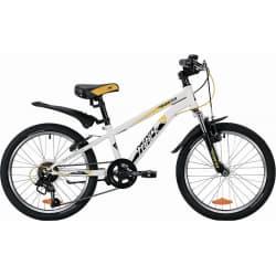 """Велосипед 20"""" NOVATRACK POINTER 6 скоростей, Белый"""
