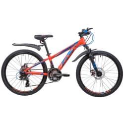"""Велосипед 24"""" NOVATRACK EXTREME 21 скор. Оранжевый"""