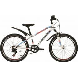 "Велосипед 24"" NOVATRACK EXTREME 12"" 6 скор. Белый"