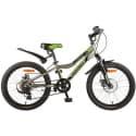 """Велосипед 20"""" NOVATRACK ACTION 6 скор., Серый"""