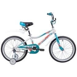 """Велосипед 18"""" NOVATRACK NOVARA Алюминиевая рама, Белый"""