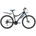 """Велосипед 26"""" STARK Slash 26.1 D 14,5"""" чёрный/синий/серый"""