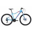 """Велосипед 27.5"""" STARK Viva 27.4 HD 18"""" 27 скоростей, Алюминиевая рама, голубой/розовый/белый"""