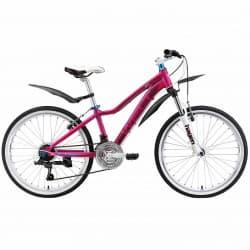 """Велосипед 24"""" WELT Edelweiss matt pink/blue 2019"""