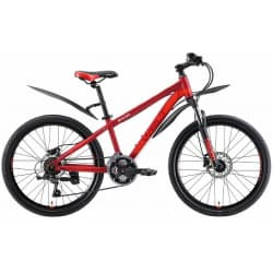 "Велосипед 24"" WELT Peak 24 HD matt red/orange 2019"