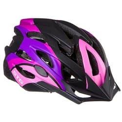 Шлем велосипедный STG MV29-A Розово/фиолет./черн. Р:M(55-58) Х89036