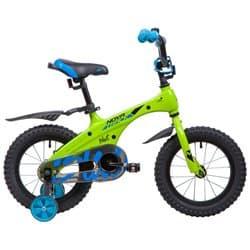 """Велосипед 14"""" NOVATRACK BLAST Алюм., Зеленый"""