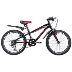 """Велосипед 20"""" NOVATRACK PRIME Алюм., Черный"""