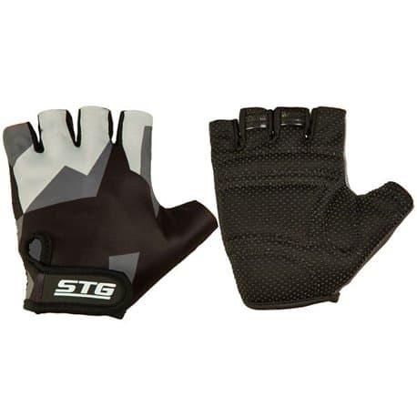 Перчатки вело STG серо/черные M Х87904-М