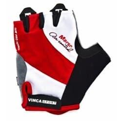 Перчатки вело VINCA VG-933 Red Marso L