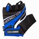 Перчатки вело VINCA VG-949 black/blue (XXL)