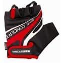 Перчатки вело VINCA VG-949 black/red (XXL)
