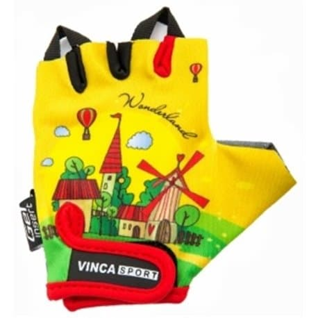 Перчатки вело VINCA детские VG 942 child travel (4 года)