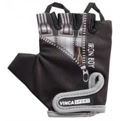 Перчатки вело VINCA детские VG 962 Iron boy (7 лет)