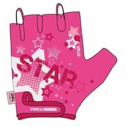 Перчатки вело VINCA детские VG 967 Star (6 лет)