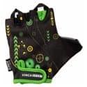Перчатки вело VINCA детские VG-936 Robocop (3 года)