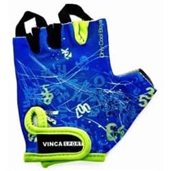 Перчатки вело VINCA детские VG-939 Letters (3 года)