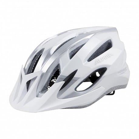 Шлем велосипедный ALPINA MTB 17 White/Silver 54-58
