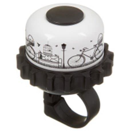 Звонок STG 23R-A картинка с велосипедом Х95339