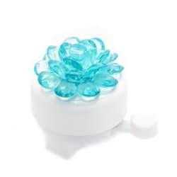 Звонок вело YL 12-2 blue (Цветок синий)